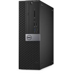 OptiPlex 7050 SFF, Core i7-7700 3.6GHz, 8GB DDR4, 500GB HDD, Intel HD 630, Win 10 Pro 64bit, Negru
