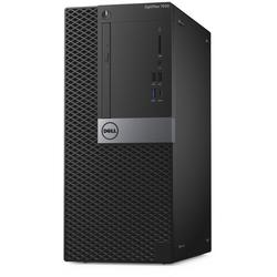 OptiPlex 7050 MT, Core i7-7700 3.6GHz, 8GB DDR4, 256GB SSD, Intel HD 630, Win 10 Pro 64bit, Negru