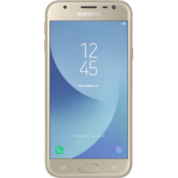 Galaxy J3 (2017), Dual SIM, 5.0'' PLS Multitouch, Quad Core 1.4GHz, 2GB RAM, 16GB, 13MP, 4G, Gold