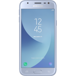 Galaxy J3 (2017), Dual SIM, 5.0'' PLS Multitouch, Quad Core 1.4GHz, 2GB RAM, 16GB, 13MP, 4G, Silver Blue
