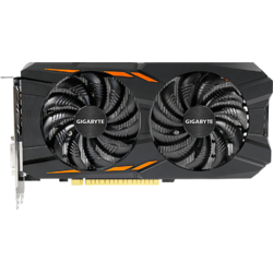 GeForce GTX 1050 Windforce, 2GB GDDR5, 128 biti