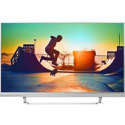 Smart TV Android 49PUS6482/12, 124cm, 4K UHD, Argintiu