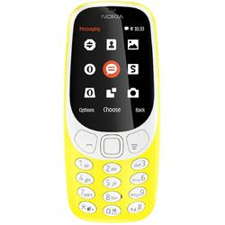 3310 (2017), Dual SIM, 2.4'' TFT, 2MP, 2G, Bluetooth, Yellow