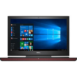 Inspiron 7567, 15.6'' UHD, Core i7-7700HQ 2.8GHz, 16GB DDR4, 512GB SSD, GeForce GTX 1050 Ti 4GB, Win 10 Home 64bit, Negru