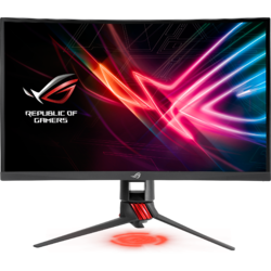 "ROG Strix XG27VQ, 27"", Full HD, VA, Curbat, 4ms, 144Hz, FreeSync, Aura RGB, Gaming"