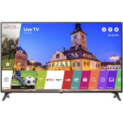 "43LJ614V, 108cm / 43"", Full HD, Smart TV, Negru"