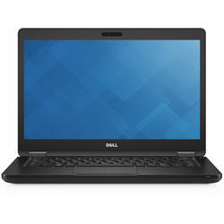 "Latitude 5480, 14.0"" FHD, Core i5-7440HQ 2.8GHz, 8GB DDR4, 256GB SSD, GeForce 930MX 2GB, Ubuntu Linux, Negru"