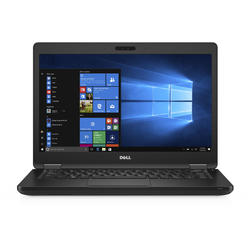 "Latitude 5480, 14.0"" FHD, Core i5-7440HQ 2.8GHz, 8GB DDR4, 256GB SSD, GeForce 930MX 2GB, Windows 10 Pro, Negru"
