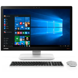 IdeaCentre 910-27ISH, 27.0'' 4K UHD Touch, Core i5-7400T 2.4GHz, 8GB DDR4, 1TB HDD + 128GB SSD, GeForce GTX 950A 2GB, Win 10 Home 64bit, Argintiu
