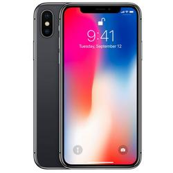 iPhone X, Single SIM, 5.8'' Super AMOLED Multitouch, Hexa Core, 3GB RAM, 256GB, Dual 12MP + 12MP, 4G, Space Gray