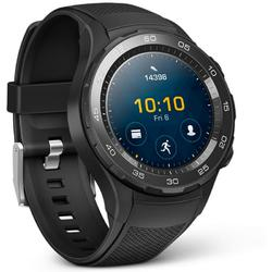 Watch W2, 1.2'' AMOLED Touch, Quad Core 1.1GHz, 768MB RAM, 4GB, Bluetooth 4.1, 4G/LTE, Curea silicon, Negru