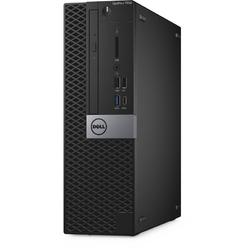 OptiPlex 7050 SFF, Core i5-7500 3.4GHz, 4GB DDR4, 500GB HDD, Intel HD 630, Win 10 Pro 64bit, Negru
