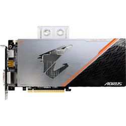 AORUS GeForce GTX 1080 Ti Waterforce WB Xtreme Edition, 11GB GDDR5X, 352 biti