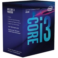 Core i3-8100 Coffee Lake, 3.6GHz, 6MB, 65W, Socket 1151 v2, Box