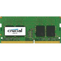 CT8G4SFD824A, 8GB, DDR4, 2400MHz, CL17, 1.2V, Dual Ranked x8