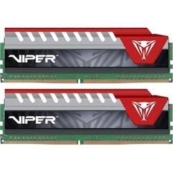 Viper Elite Red, 16GB, DDR4, 2400MHz, CL15, 1.2V, Kit Dual Channel