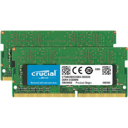 CT2K8G4SFS8266, 16GB, DDR4, 2666MHz, CL19, 1.2V, Kit Dual Channel, Single Ranked x8