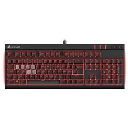 STRAFE Red LED, USB, Layout EU, Cherry MX Red, Negru