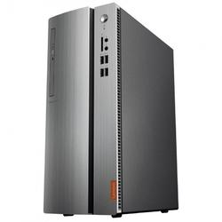 IdeaCentre 510-15IKL, Core i5-7400 3.0GHz, 8GB DDR4, 1TB HDD, Radeon RX 550 2GB, FreeDOS, Argintiu