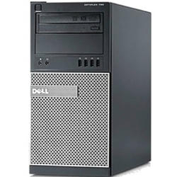 OptiPlex 790, Core i7-2600, 8GB DDR3, 250GB SATA, DVD-RW, Tower