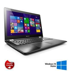"Yoga 510-14ISK 14.1"", Core i5-6200U, 8GB DDR3, 128GB SSD, Radeon R5 M430, Windows 10 Home, Negru"