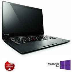 "ThinkPad X1 Carbon 14.1"", Core i7-3667U, 8GB DDR3, 240GB SSD, HD Graphics 4000, Windows 10 Professional, Negru"