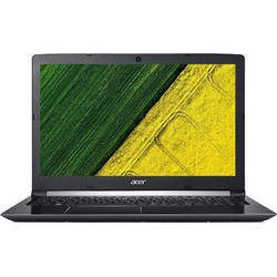 Aspire A515-51G-8227, 15.6'' FHD, Core i7-8550U 1.8GHz, 4GB DDR4, 256GB SSD, GeForce MX150 2GB, Linux, Argintiu