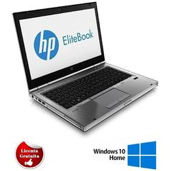 "Elitebook 8470p 14.1"", Core i5-3320M, 4GB DDR3, 128GB SSD, Intel HD Graphics 4000, Windows 10 Home, Argintiu"