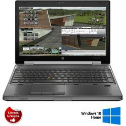 "EliteBook 8570w 15.6"", Core i7-3520M, 8GB DDR3, 320GB HDD, nVidia Quadro K1000M, Windows 10 Home, Negru"