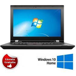 "ThinkPad L430 14.1"", Core i3-3120M, 4GB DDR3, 320GB HDD, Intel HD Graphics 4000, Windows 10 Home, Negru"