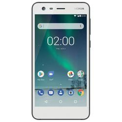 Nokia 2, Dual SIM, 5.0'' LTPS LCD Multitouch, Quad Core 1.3GHz, 1GB RAM, 8GB, 8MP, 4G, White
