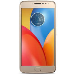 Moto E4 Plus, Dual SIM, 5.5'' IPS LCD Multitouch, Quad Core 1.3GHz, 3GB RAM, 16GB, 13MP, 4G, Fine Gold