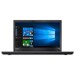 ThinkPad T470p, 14.0'' FHD, Core i5-7300HQ 2.5GHz, 8GB DDR4, 256GB SSD, Intel HD 630, FingerPrint Reader, Win 10 Pro 64bit, Negru