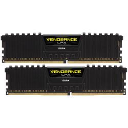 Vengeance LPX Black, 16GB, DDR4, 2400MHz, CL14, 1.2V, Kit Dual Channel