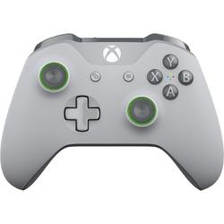 Xbox One S Wireless Controller pentru Xbox One/PC, Wireless, Grey/Green