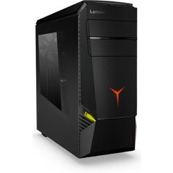 Legion Y920T-34IKZ Tower, Core i5-7600K 3.8GHz, 16GB DDR4, 1TB HDD + 256GB SSD, GeForce GTX 1070 8GB, FreeDOS, Negru