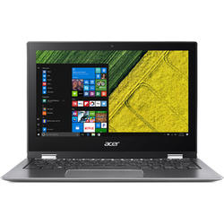 Spin 1 SP111-32N-P59B, 11.6'' FHD Touch, Pentium N4200 1.1GHz, 4GB DDR3, 64GB eMMC, Intel HD 505, Win 10 S 64bit, Gri