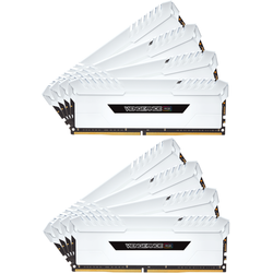 Vengeance White RGB LED, 128GB, DDR4, 3000MHz, CL16, 1.35V, Kit x 8