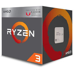 Ryzen 3 2200G Raven Ridge, 3.5GHz, 6MB, 65W, Socket AM4, Box