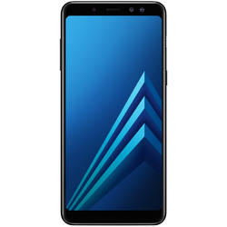Galaxy A8 (2018), Dual SIM, 5.6'' Super AMOLED Multitouch, Octa Core 2.2GHz + 1.6GHz, 4GB RAM, 32GB, 16MP, 4G, Black