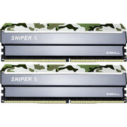 Sniper X Classic Camo, 32GB, DDR4, 2400MHz, CL17, 1.2V, Kit Dual Channel