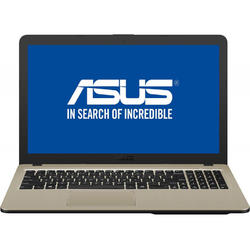 VivoBook 15 X540NA-GO034, 15.6'' HD, Celeron N3350 1.1GHz, 4GB DDR3, 500GB HDD, Intel HD 500, Endless OS, Chocolate Black
