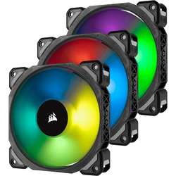 ML Pro RGB 120 Three Fan Kit High Static Pressure, 120mm, 3 Fan Pack