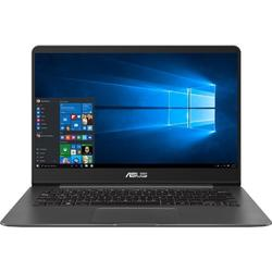 ZenBook UX430UA-GV271R, 14.0'' FHD, Core i7-8550U 1.8GHz, 8GB DDR3, 256GB SSD, Intel UHD 620, FingerPrint Reader, Win 10 Pro 64bit, Gri