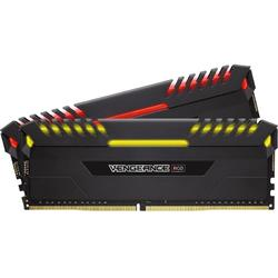 Vengeance RGB LED, 32GB, DDR4, 3200MHz, CL16, 1.35V, Kit Dual Channel