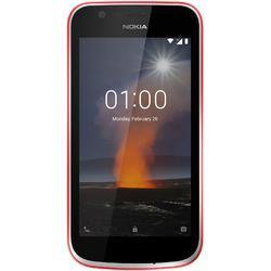 1, Dual SIM, 4.5'' IPS LCD Multitouch, Quad Core 1.1GHz, 1GB RAM, 8GB, 5MP, 4G, Warm Red