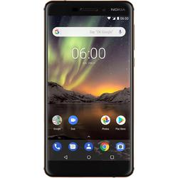 6 (2018), Dual SIM, 5.5'' IPS LCD Multitouch, Octa Core 2.2GHz, 3GB RAM, 32GB, 16MP, 4G, Black/Copper