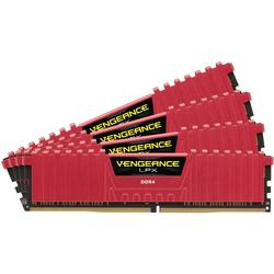 Vengeance LPX Red, 32GB, DDR4, 3866MHz, CL18, 1.35V, Kit Quad Channel