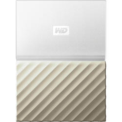 My Passport Ultra, 3TB, USB 3.0, Alb/Auriu
