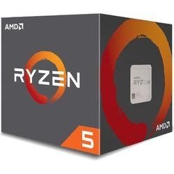 Ryzen 5 2600 Pinnacle Ridge, 3.4GHz, 19MB, 65W, Socket AM4, Box